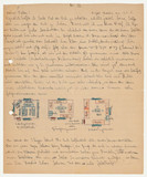 Letter from Ernst Loewy to his parents