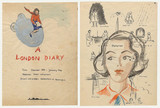 Illustrated diary of Lili Cassel, title and first page