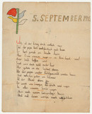 Poem by Stefanie Zweig for her father